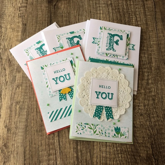 Other - Handmade Variety Pack ( Total 5 Cards)